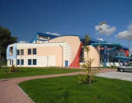 Basen Ostrów Mazowiecka Parking