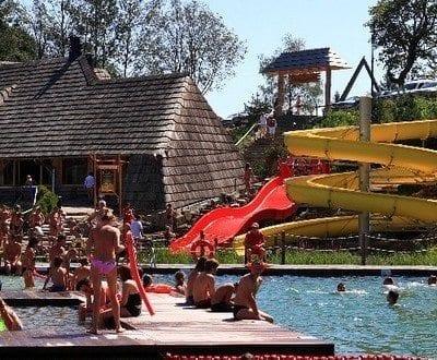 Basen Zjeżdżalnie Aquapark Kocierz Andrychów