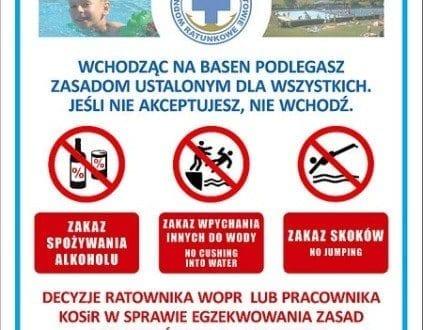 Pływalnia Letnia KOSIR - basen Kępno cennik, opinie, godziny otwarcia
