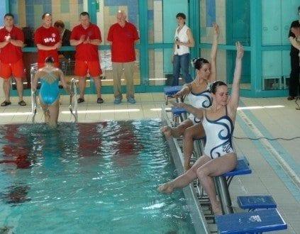 Basen Pułtusk Pływanie Synchroniczne
