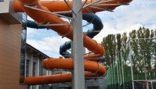 Basen Aquapark Radom Zjezdzalnia