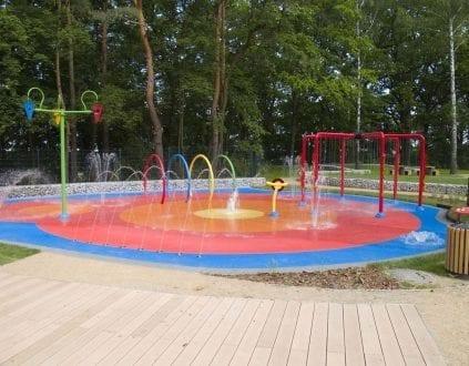 Wodny plac zabaw dla dzieci