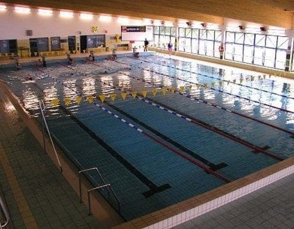 Wroclaw Basen AWF Nauka Plywania