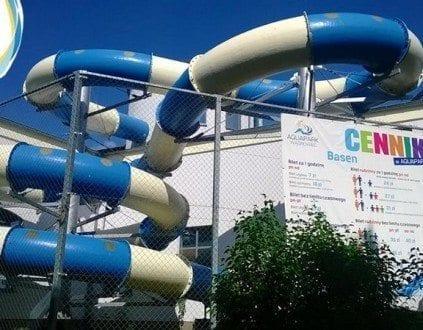 Aquapark Wagrowiec Zjezdzalnia