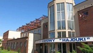 Basen Hajduki Chorzow Plywalnia