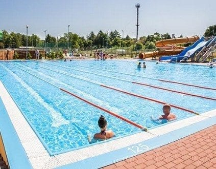 Baseny Letnie Aquapark Ustronie Morskie