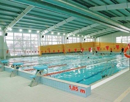 Pływalnia Uniwersytetu Warszawskiego, źródło:http://www.uw.edu.pl/csir