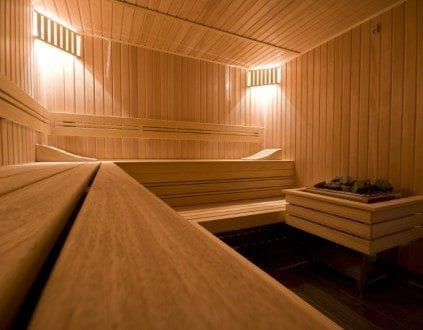 Sauna w Hotelu Warmia Braniewo