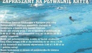 Pływalnia Kryta PCE - basen Kętrzyn