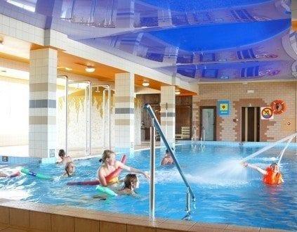 Aquapark Hotelu Victoria basen Bolszewo