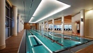 Basen Aquarius SPA Kolobrzeg Plywalnia