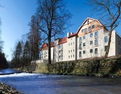 Basen Hotelu Dwór Elizy - Długopole Zdrój