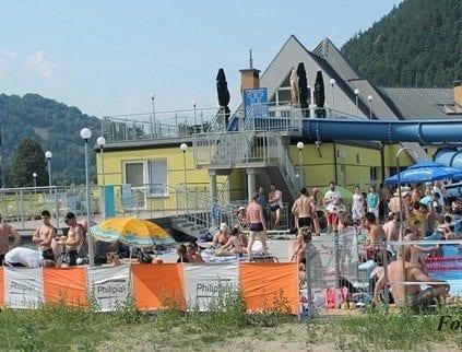 Kąpielisko na Radwanowie - basen Piwniczna Zdrój