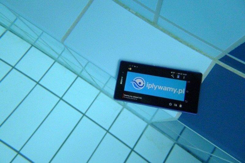 Telefon pod woda