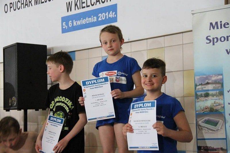 III Ogólnopolskie Zawody o Puchar MOSiR Kielce na krótkim basenie 25m Kielce - 5,6 kwietnia 2014r