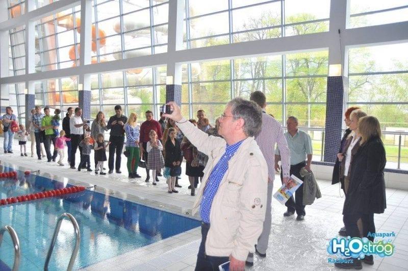Raciborzanie zachwyceni aquaparkiem H2Ostróg
