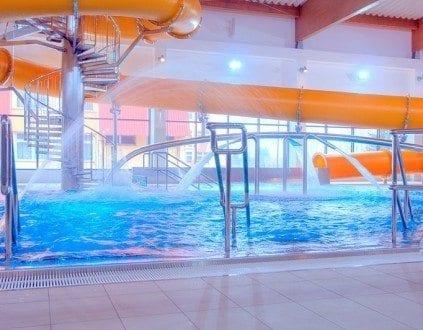 Nowy Targ Basen rekreacyjny zjezdzalnia