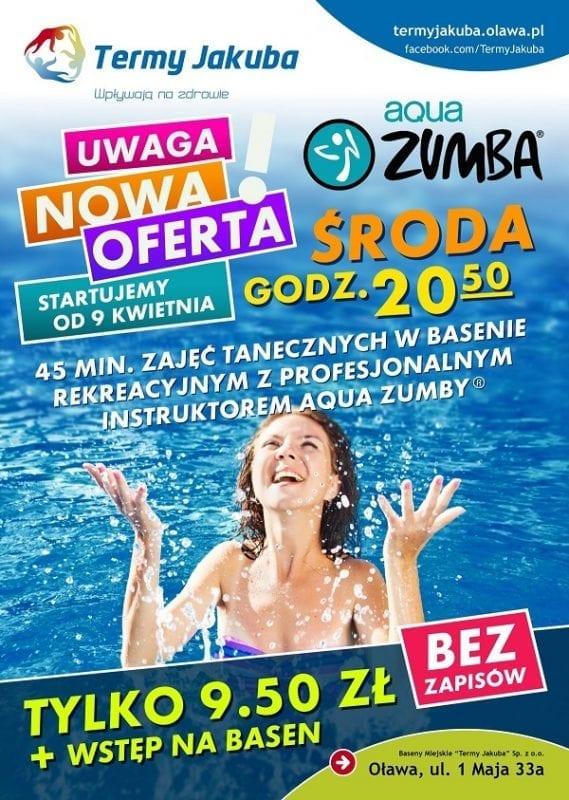 Aqua Zumba R w Termach Jakuba