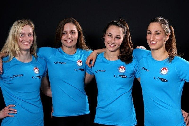 Alicja Tchórz, Klaudia Naziębło, Dominika Sztandera oraz Beata Pożarowszczyk