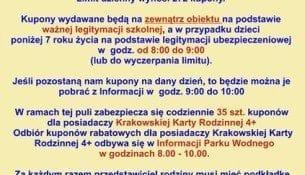 """Akcja """"Bezpieczny Kraków"""" w Parku Wodnym"""