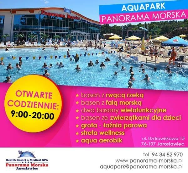 Aquapark Panorama Morska zaprasza!