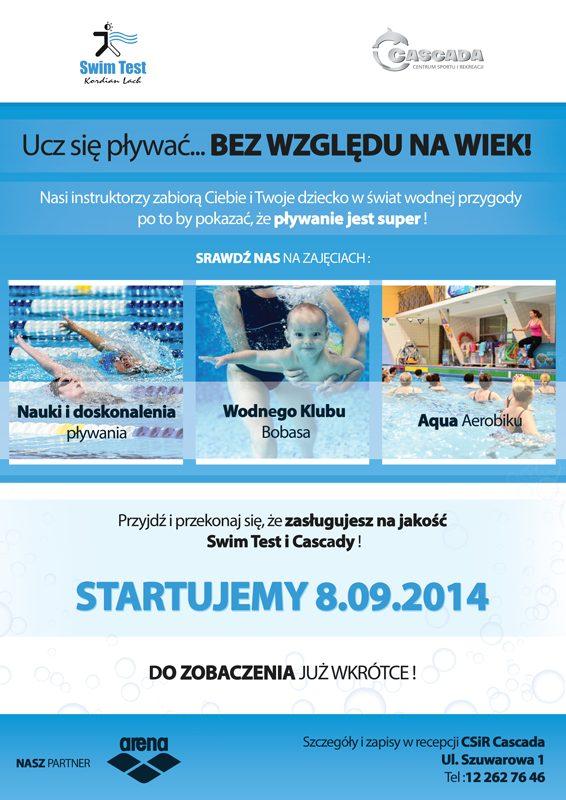 Ucz się pływać... bez względu na wiek! - Cascada Kraków