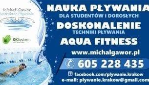 Zapisy na nowy semestr - Michał Gawor Nauka Pływania Kraków