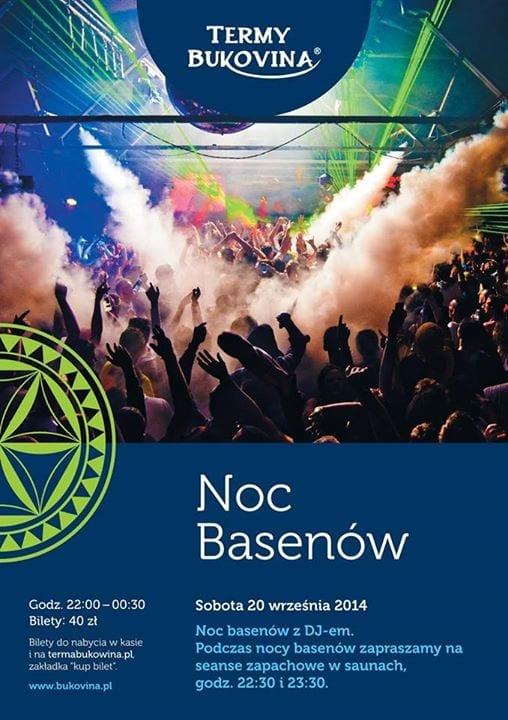 Noc Basenów - Terma Bukovina - 20 września