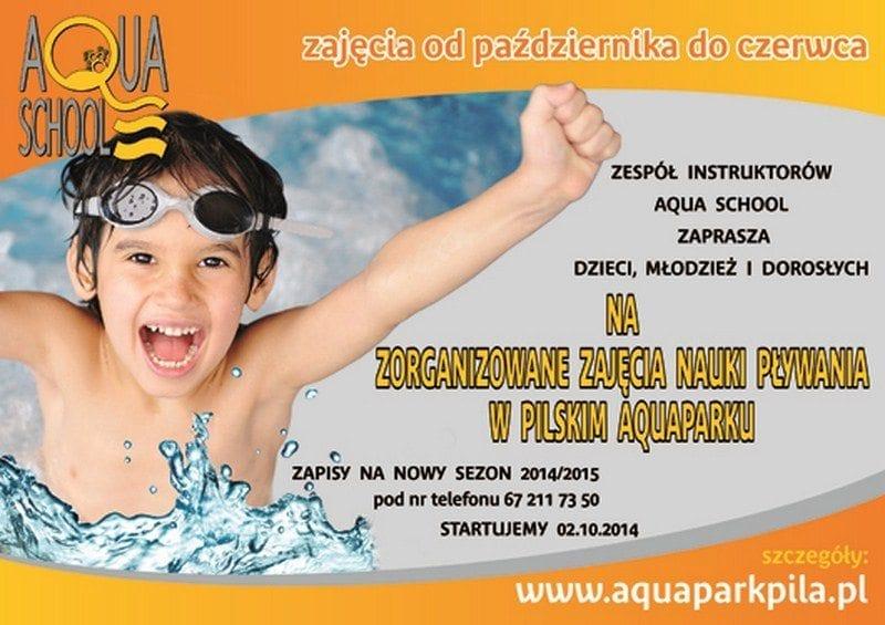 Zajęcia pływania w Aqua School - Aquapark Piła