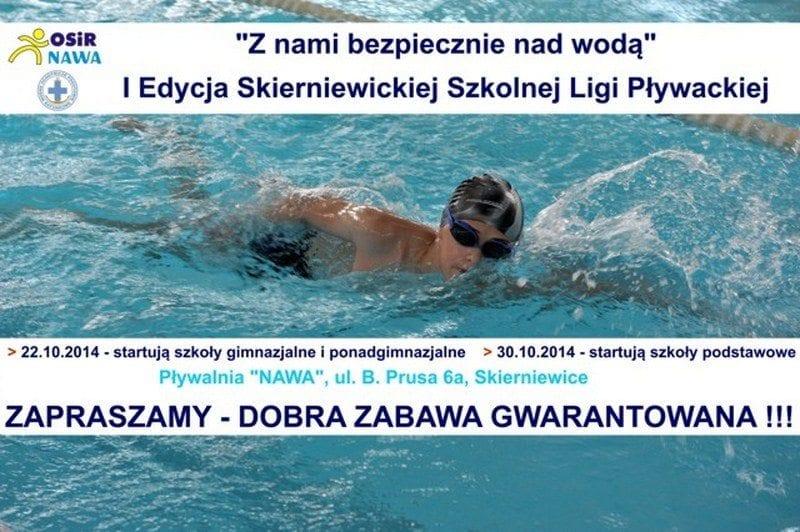 Skierniewicka Szkolna Liga Pływacka 2014/2015