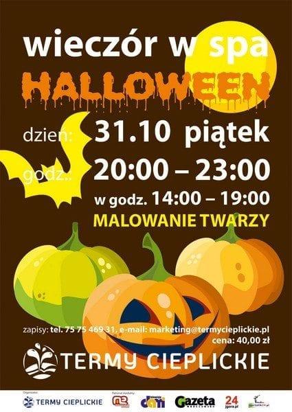 Halloween w strefie SPA w TERMACH CIEPLICKICH!