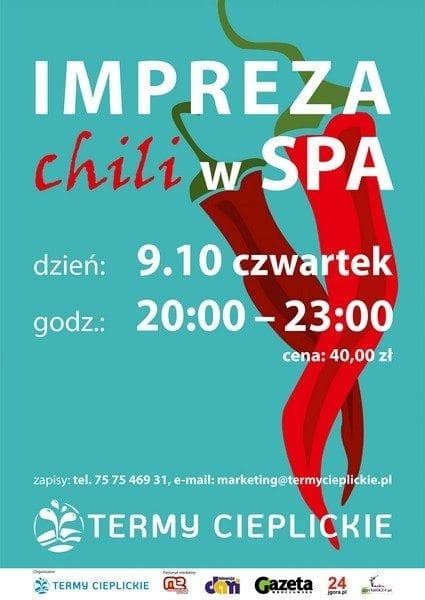 Impreza Chili w SPA - Termy Cieplickie