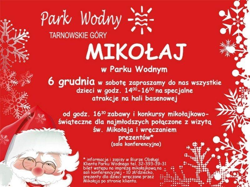 Mikołaj w Parku Wodnym Tarnowskie Góry