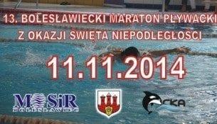 13 Bolesławiecki Maraton Pływacki z okazji Święta Niepodległości