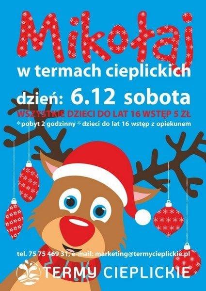 Mikołaj w Termach Cieplickich