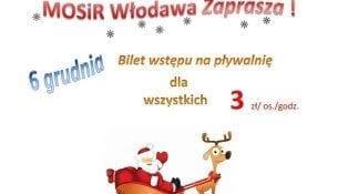 Mikołaj z MOSiRem – basen Włodawa