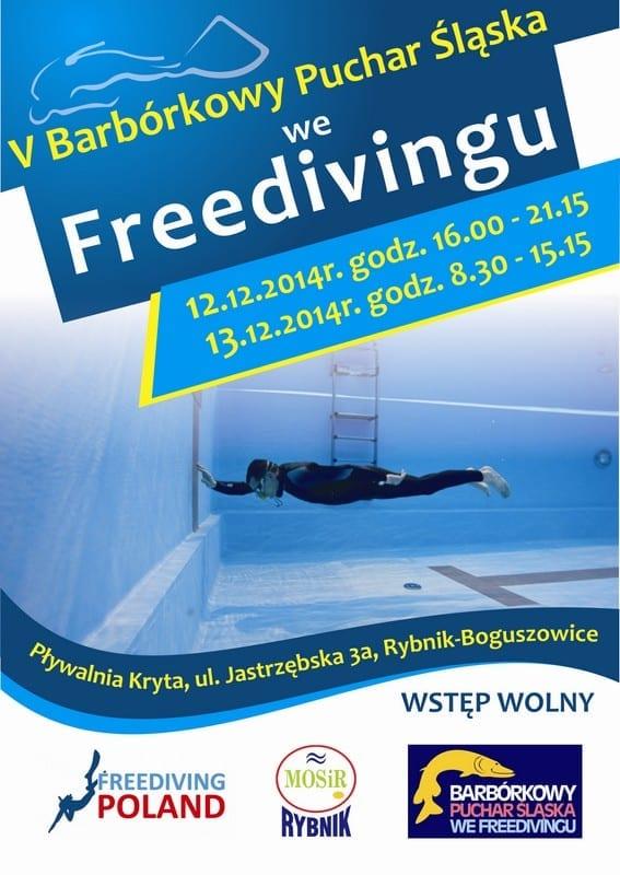 Barbórkowy Puchar Śląska we Freedivingu