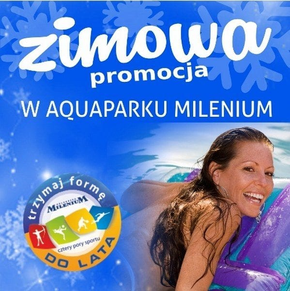 Zimowe promocje w Aquaparku Milenium - Kołobrzeg
