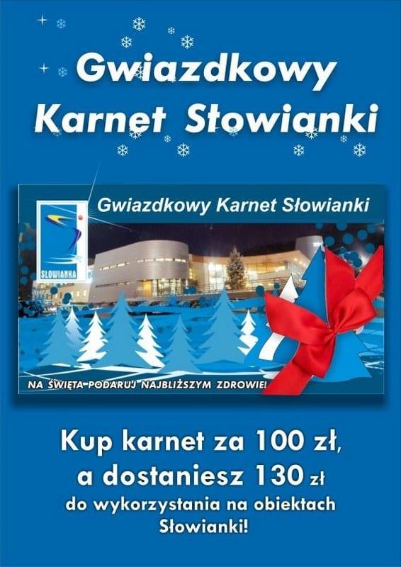 Gwiazdkowy Karnet Słowianki - Gorzów Wielkopolski