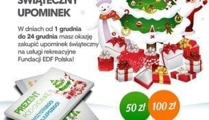 Prezent pod choinkę - usługi rekreacyjne Fundacji EDF Polska!