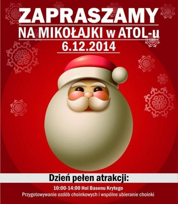 Mikołajki w Atol Oleśnica