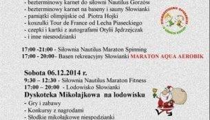 Mikołajkowy Maraton Zdrowia i Urody na Słowiance - Gorzów Wielkopolski