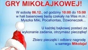 Mikołajkowa Gra Bajkowa - Park Wodny Kraków