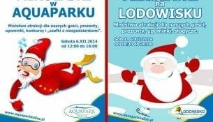 Mikołajki w Aquaparku Kalisz