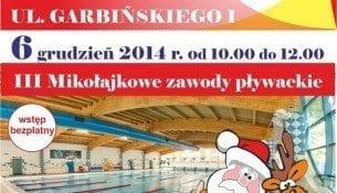 III Mikołajkowe zawody pływackie - basen Nowa Fala Warszawa