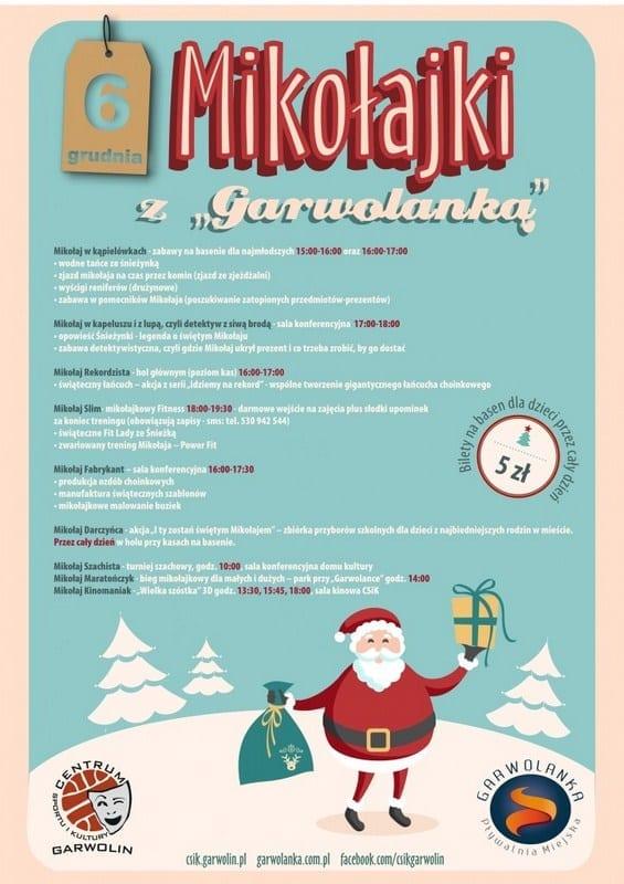 Wszystkie oblicza Świętego Mikołaja - Basen Garwolin