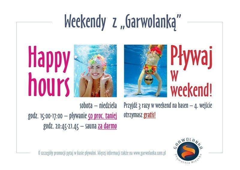 "Weekendy z ""Garwolanką"" - basen Garwolin"