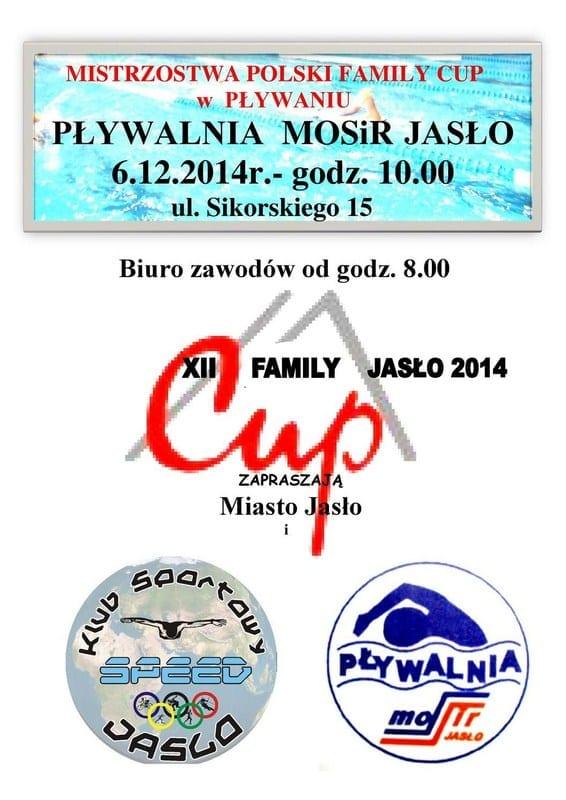 Mistrzostwa Polski Family Cup w Pływaniu - Pływalnia MOSiR Jasło