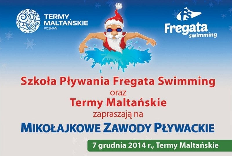 Mikołajkowe Zawody Pływackie w Termach Maltańskich
