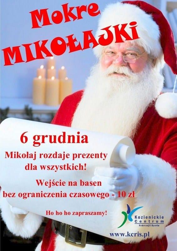 Mokre Mikołajki - Kozienickie Centrum Rekreacji i Sportu